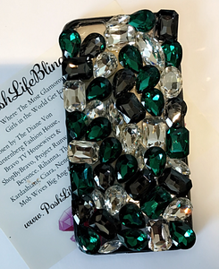 Emerald Crystal Cell Phone Case