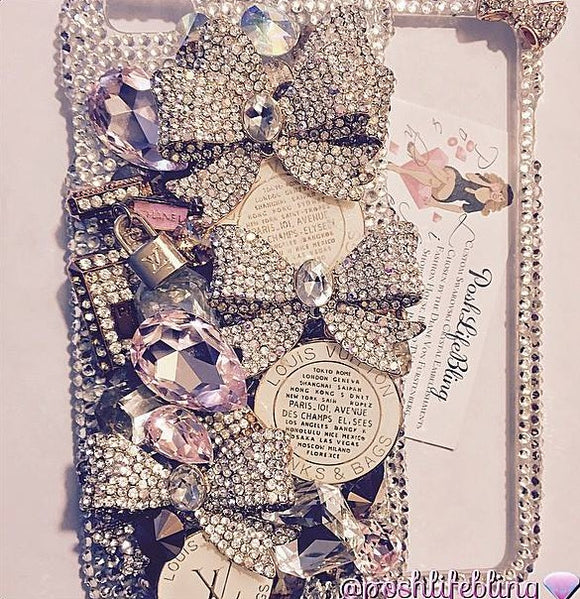 The Ultimate Glamour Girl Crystal 3d Cell Phone Case