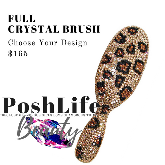 Posh Life Beauty Full Glamour Crystal Brush