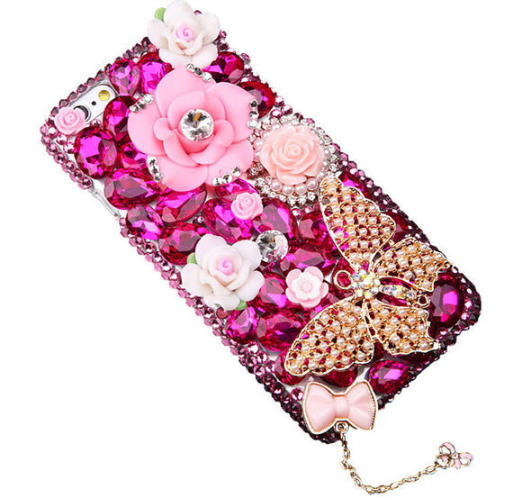 Cotton Candy Crystal Cell Phone Case