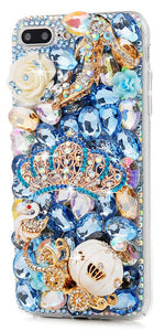 Cinderella Crystal Cell Phone Case