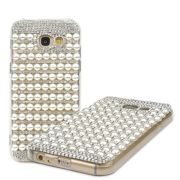 Diamonds & Pearls Crystal Cell Phone Case