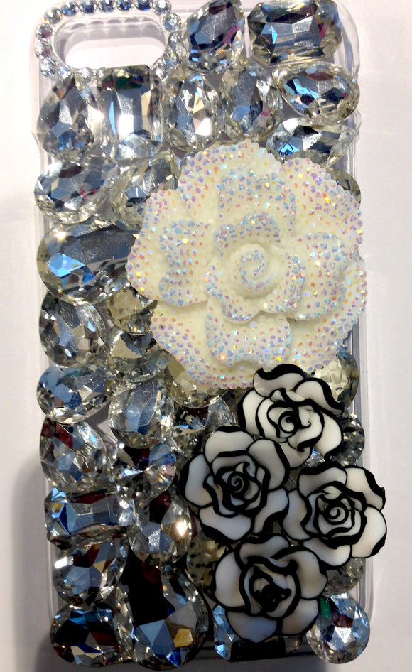 Crystal Flowers iPhone 8 Case, in stock