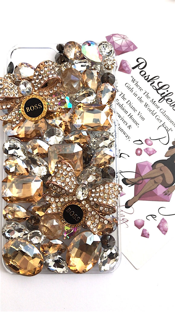 Be Boss About It Crystal Phone Case
