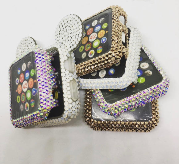 Crystal Apple Watch Covers