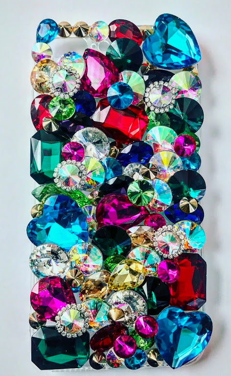 Mardi Gras Crystal Phone Case