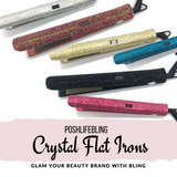 PoshLifeBeauty Crystal Flat Irons