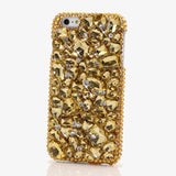 Goldi Locks Crystal Bling Cell Phone Case