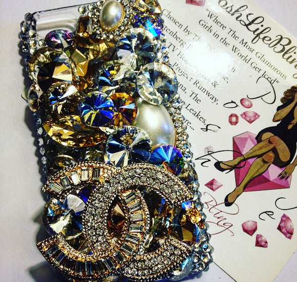 The Socialite Crystal Cell Phone Case