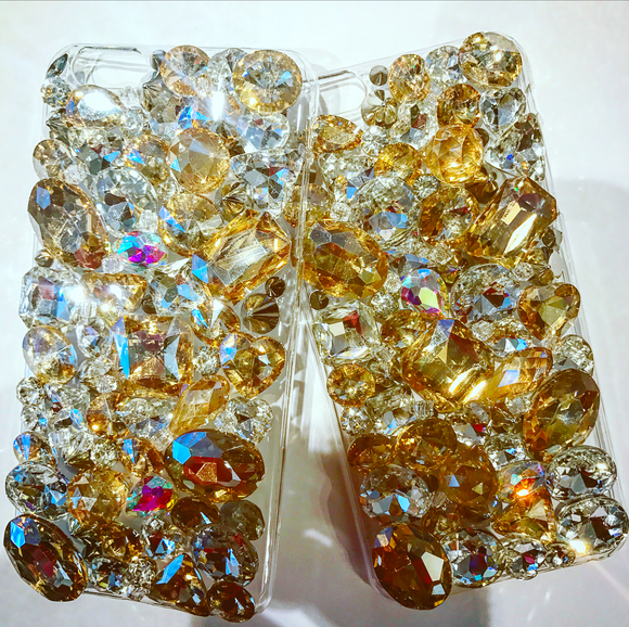 Lavish Crystal Cell Phone Case