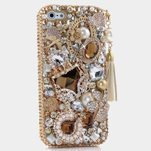 Bags & Bling Crystal Cell Phone Case