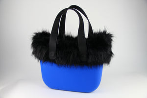 Ebony Fur on Azure