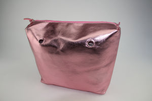 Textured Shiny Candy Pink Inner Bag