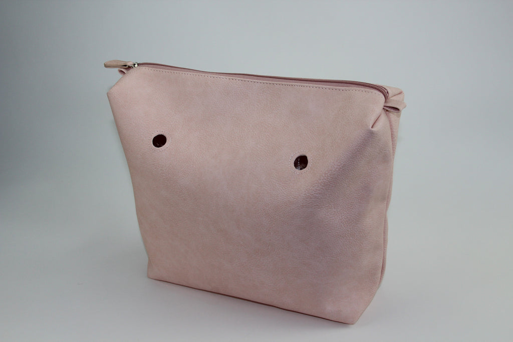 Blush Pink Textured Inner Bag