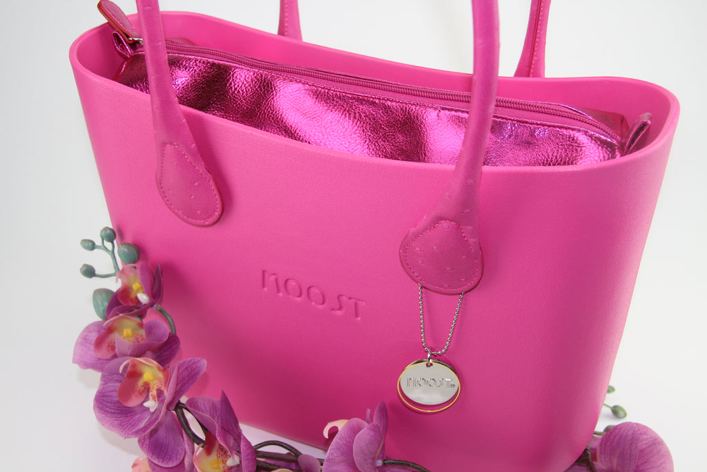 Textured Foil Fuchsia Inner Bag