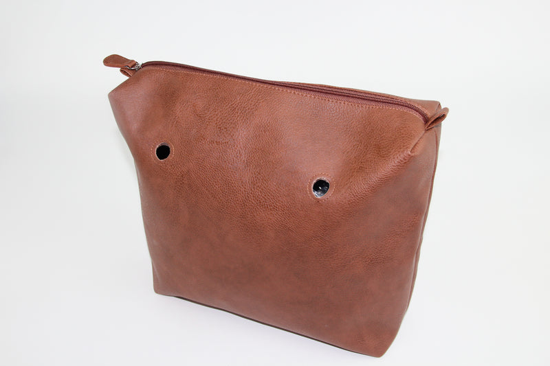Textured Chestnut Brown Inner Bag