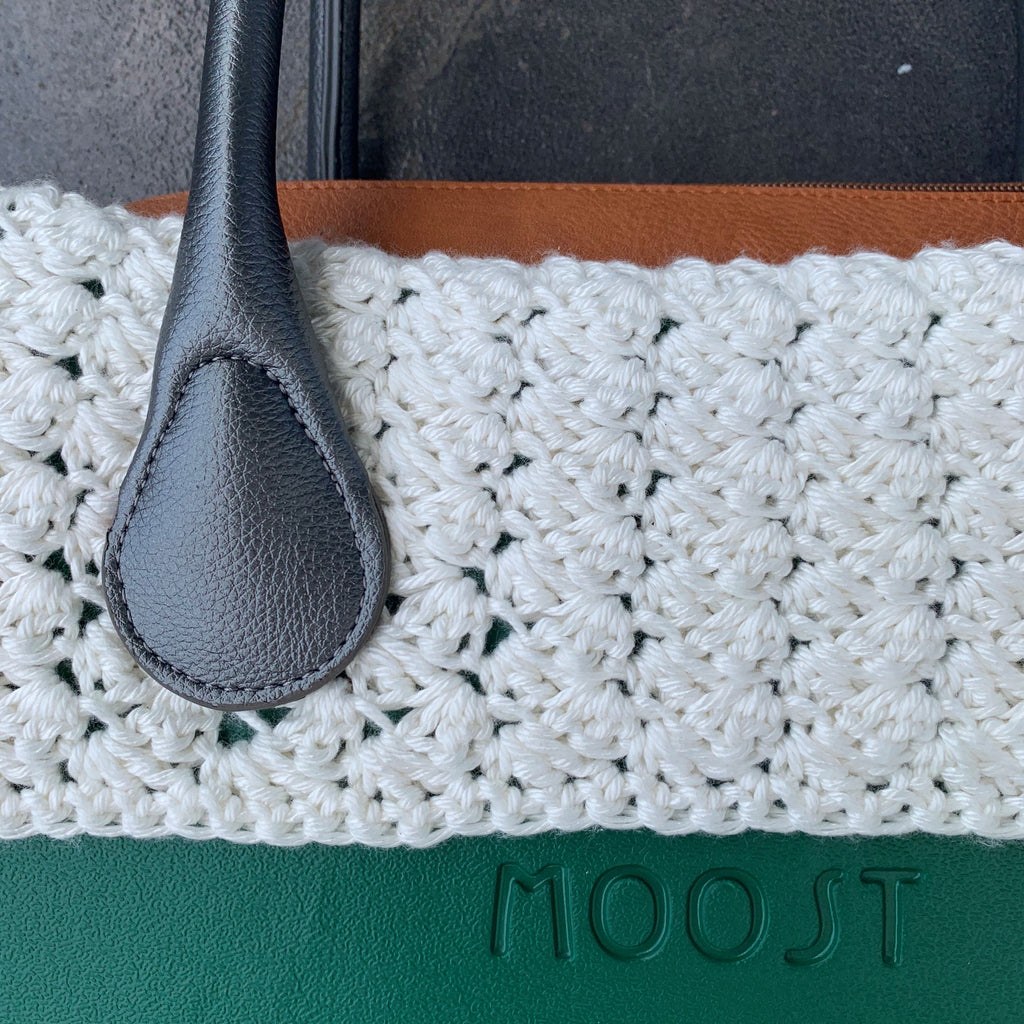 Snow Cream Crochet Trim