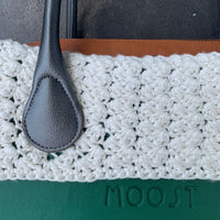 Snow Cream Crocheted Trim