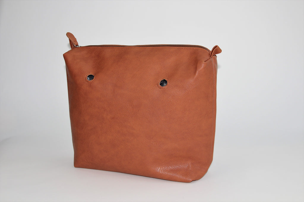 Textured Saddle Brown Inner Bag