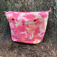 Strawberry Lemonade Tie-Dye Canvas Inner Bag