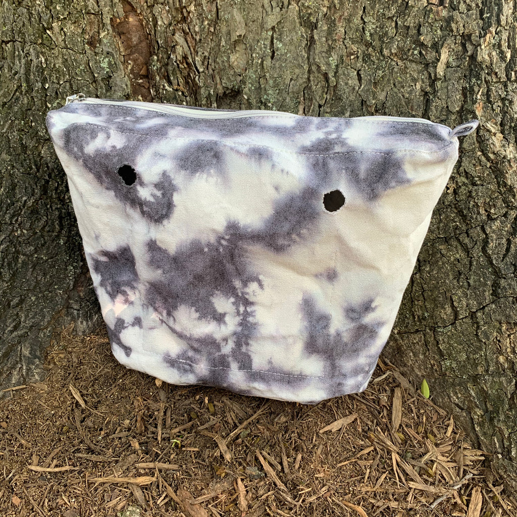Marble Tie-Dye Canvas Inner Bag