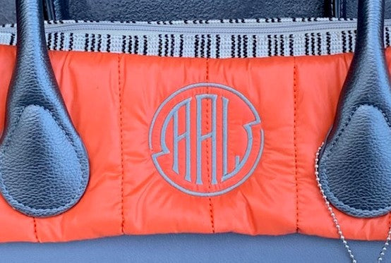 Monogram Quilted Trim