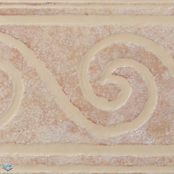 Sicilian Cream Deco Tile 6.5X13