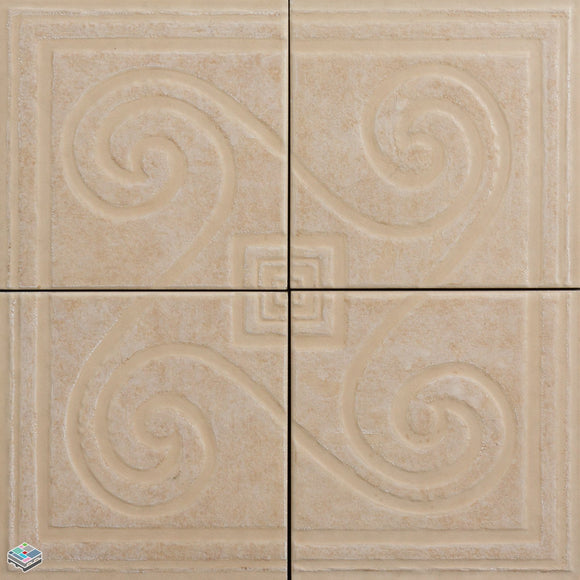 Sicilian Maple Deco Tile 6.5X6.5