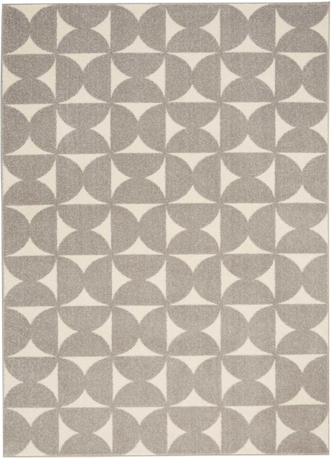 Nourison Harper DS301 Grey 4'x6' Area Rug DS301 Grey
