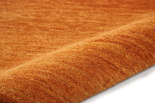 Load image into Gallery viewer, Calvin Klein Linear Glow GLO01 Brown 4'x6' Area Rug GLO01 Cumin