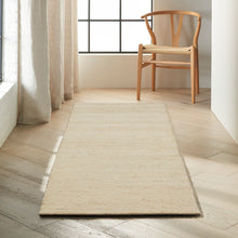 Load image into Gallery viewer, Calvin Klein Kathmandu 8' Runner Natural Colored All- Natural Fibers Area Rug CK920 Natural