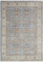 Load image into Gallery viewer, Nourison Starry Nights 10' x 13' Area Rug STN08 Light Blue
