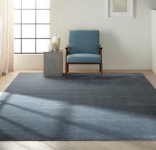 Load image into Gallery viewer, Calvin Klein Jackson CK781 Slate Blue 8'x11' Large Striated Rug CK781 Slate