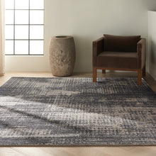 Load image into Gallery viewer, Calvin Klein Ck950 Rush 8' x 10' Area Rug CK953 Grey/Beige
