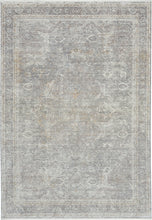Load image into Gallery viewer, Nourison Starry Nights 5' x 7' Area Rug STN03 Silver/Cream