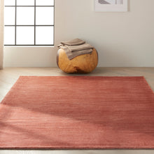 Load image into Gallery viewer, Calvin Klein Home Lunar LUN1 Brown 5'x8' Area Rug LUN1 Rust