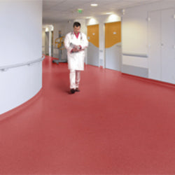 Armstrong Commercial Sheet Vinyl - Red
