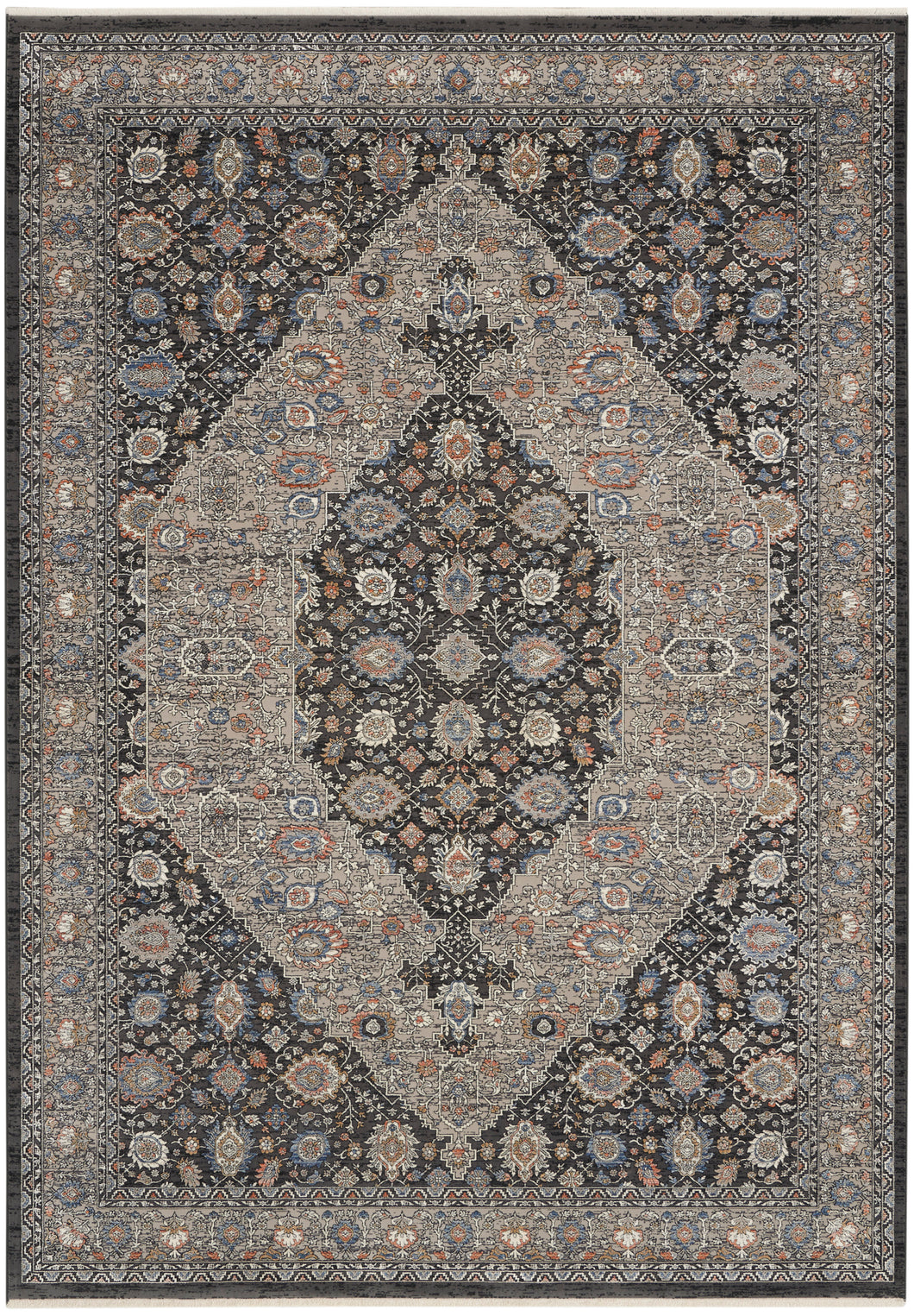 Nourison Starry Nights 9' x 12' Area Rug STN11 Grey/Blue