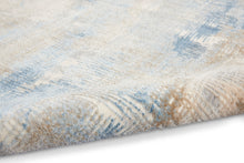 Load image into Gallery viewer, Calvin Klein Ck950 Rush 8' x 10' Area Rug CK951 Blue/Beige