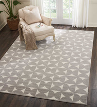 Load image into Gallery viewer, Nourison Harper DS301 Grey 8'x10' Large Rug DS301 Grey