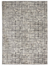 Load image into Gallery viewer, Calvin Klein Ck950 Rush 5' x 7' Area Rug CK952 Ivory/Grey