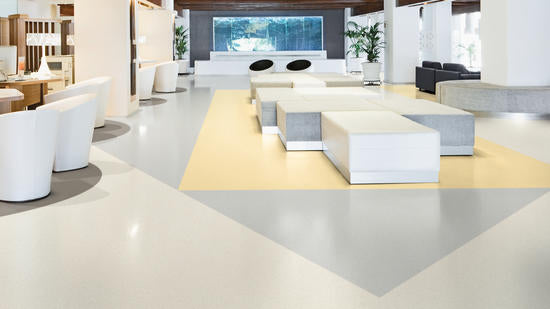Armstrong Commercial Vinyl  - White