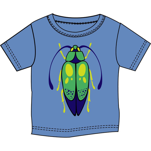 Beetle Bug Blue T-Shirt