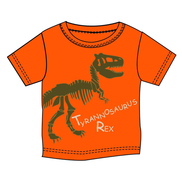 T-Rex Orange T-Shirt