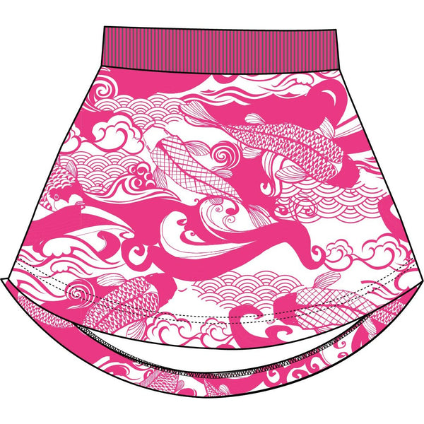 Pink waves Skirt