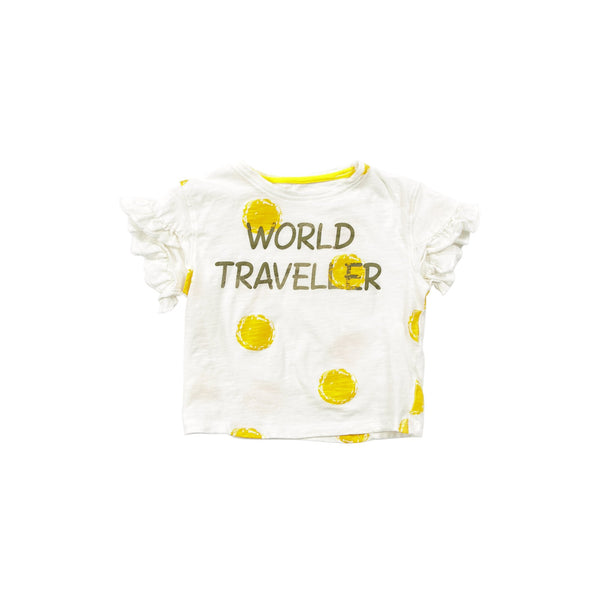 WORLD TRAVELLER SPOTTY TEE