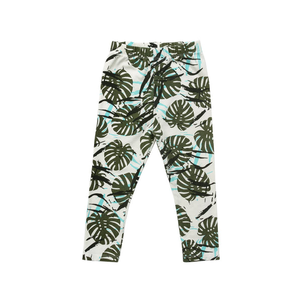 PALM PRINT LEGGING