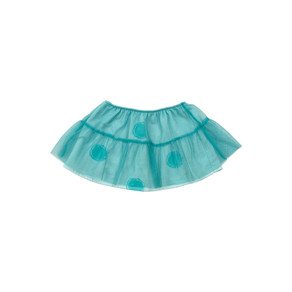 TULLE DETAIL SKIRT