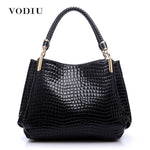 Leather Crocodile Tote bag