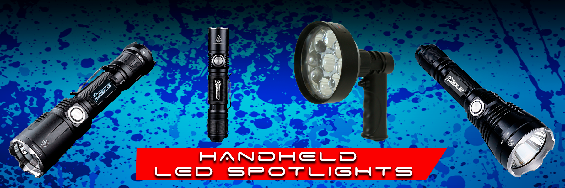 HANDHELD LED SPOTLIGHTS